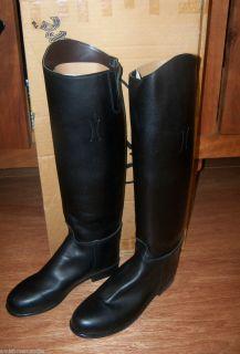 NIB Devon Aire Dressage Horse Riding Boots Nouvelle Boot Black Size 9