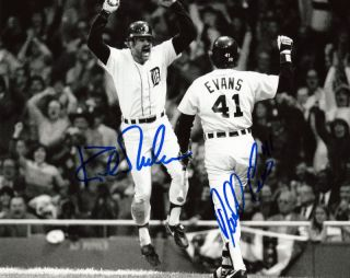 Kirk Gibson Auto Signed 84 Walkoff HR Detroit Tigers RP