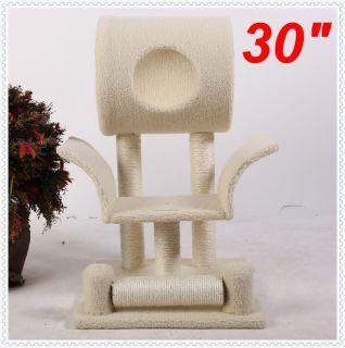 Neptune 30 Cat Tree Condo House Scratcher Pet Furniture Bed 42 New