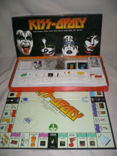 Kiss opoly 2003 edition Monopoly board game lets you rock and roll all