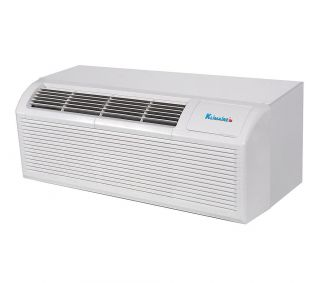 9000 Btu Klimaire PTAC Air Conditioner Heat Pump 3kW Backup Heater 220