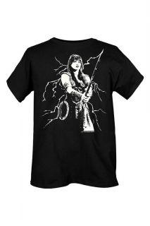 Xena Warrior Princess Lightning T Shirt