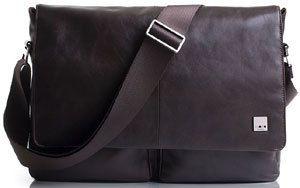 Knomo Bags Kobe 15 Soft Leather Messenger Bag Business Case Briefcase