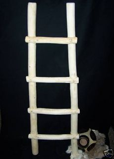 KIVA LADDER 4 FT TALL SOUTHWEST DECOR RUSTIC FURNITURE LOG CABIN DECOR