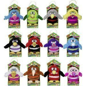 KooKoo Koo Koo Birds 6 Plush Toy with Sounds and Surprise Baby Bird
