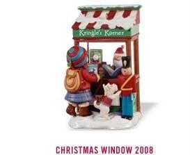 2008 Hallmark Christmas Window 6 Kringles Korner Book