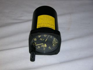 Kollsman Air Force Miltary Vietnam Aircraft AltimeterMA 1 Glow Dial
