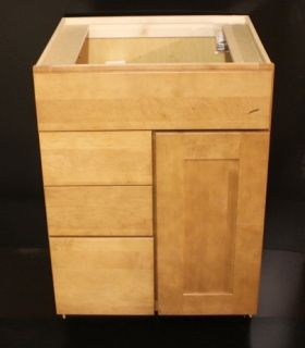 Kraftmaid Bathroom Vanity Sink Base Cabinet 24 Granite Tops 25 in