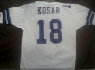 Bernie Kosar NFL Dallas Cowboys Jersey RARE