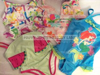 Disney Little Mermaid Swimwear Koala Kids Swimwear New
