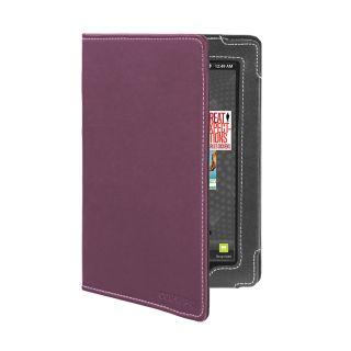 Kobo Vox eReader Tablet Purple Faux Leather Version Stand Cover Case