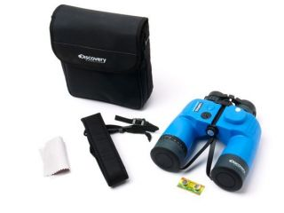 Kruger Discovery Expedition 7x50mm Porro Prism Binoculars w Compass