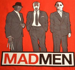 Freddy Krueger Jason Voorhees Michael Myers Madmen RIPT Apparel Mens
