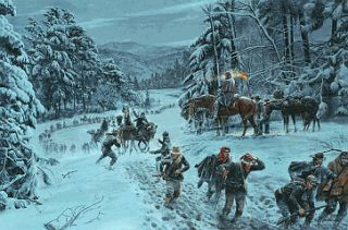Mort Kunstler Winds of Winter Collectible Civil War Print