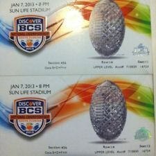 Discover BCS National Championship Tickets