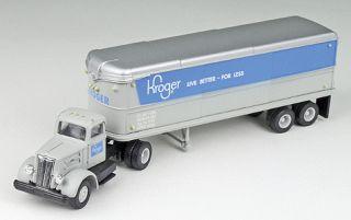 Kroger Semi Truck 1 87 Scale 1950 Type Tractor Trailer