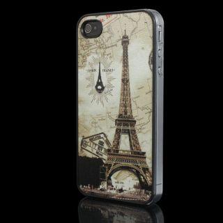 Ultra Slim Paris Eiffel Tower Hard Back Skin Case Cover For Apple