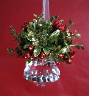Elegant Glass Krystal Crystal Ornament Christimas Tree Holiday