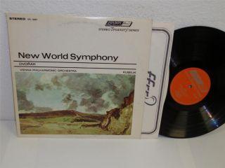 Rafale Kubelik Vienna PHC Dvorak New World Symphony LP London SS