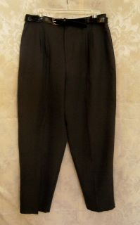Ladies Size 18 Karen Brooks Gray Dress Slacks Pants New
