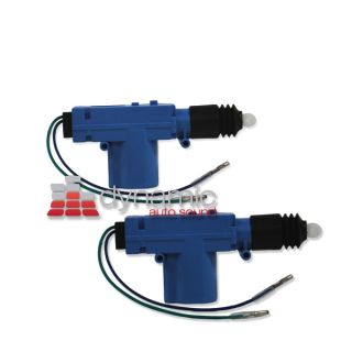 Two 2 Bullz Audio Bdla 2 Vehicle Power Door Lock Actuators for Keyless