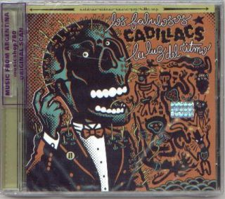 LOS FABULOSOS CADILLACS, LA LUZ DEL RITMO. FACTORY SEALED CD. IN