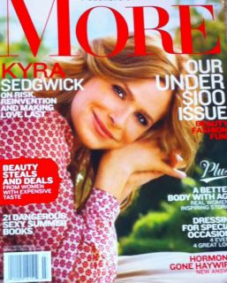 Magazine JULY AUGUST 2012 Kyra Sedgwick Better Body Fashion Beauty