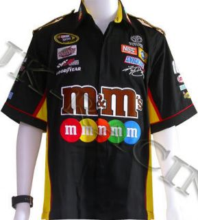 Kyle Busch M M 18 Black NASCAR Racing Pit Shirt s XXL