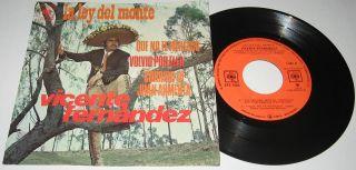Vicente Fernandez La Ley Del Monte Mexican EP 7 Mariachi