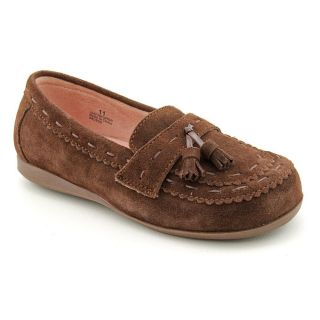 Amour Y620 Youth Kids Girls Size 2 Brown Regular Suede Moccasins