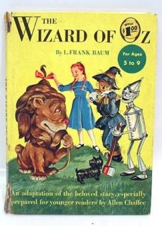 1950 Wizard of oz L Frank Baum Anton Loeb Art