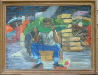 Lucy Brown LEngle New Orleans African American Watermelon Man Woman