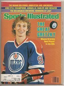 14 Wayne Gretzky Sports Illustrated 1981 1999 EX MT