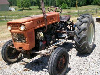 Kubota Compact Tractor L260 2 Wheel Drive