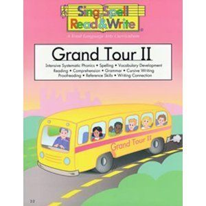 TWO GRAND TOUR # 2 STUDENT WORKBOOKS, SING, SPELL, READ AND WRITE for
