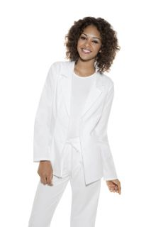 New Baby Phat Scrubs Uniforms Tops Lab Coats 26402 WHBP White