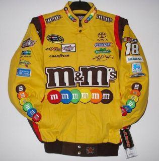 Kyle Busch M Ms Embroidered Cotton Uniform Jacket JH Design L