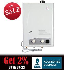 Eccotemp FVI12 LP 3 4 GPM Gas Tankless Water Heater