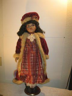 Collectible Memories Porcelain Doll Latoya