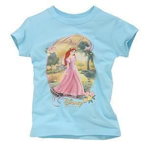 New Disney Little Mermaid Ariel Enchanted Lake T Shirt Large