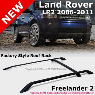 Land Rover Freelander 2 LR2 06 11 Factory Style Black Roof Rack Rails