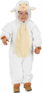 Toddlers Loveable Lamb Cute Halloween Costume 2T