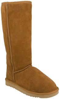 Lamo Sheepskin Uggs 14 Inch Classic Womens Boots   Chestnut   size 10