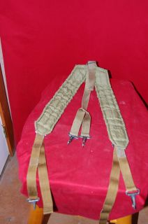 USGI Load Carrying Equipment Shoulder Straps Attaches to Utility Belts