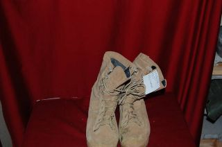 Belleville Gortex Army Tan Combat Boots Hiking SZ5 XW