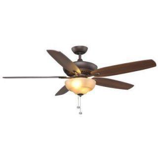 15 Hampton Bay Langston 60 in Oil Rubbed Bronze Ceiling Fan