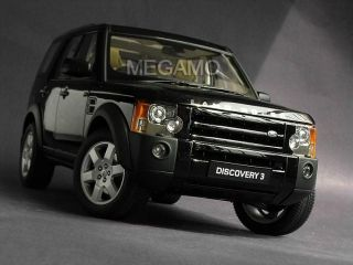 18 Autoart Land Rover Discovery 3 Black 74802