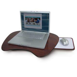 Laptop Cooling Pad Pads Desktop Computer Cherry Wood Lap Desk