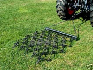 ft Chain Harrow Landscape Lawn Drag Arena ATV Rake