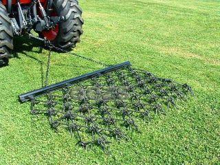 x3 Chain Harrow Landscape Lawn Drag Arena ATV Rake